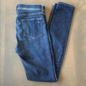 Rag & Bone 10 inch Skinny High Waisted Jean
